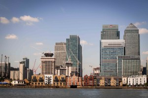 Header image of Canary Wharf offices