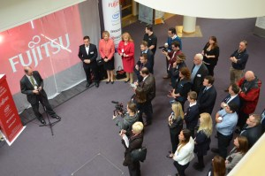 Launch Of Fujitsu Hub Stephen Criddle Obe Principal South Devon College