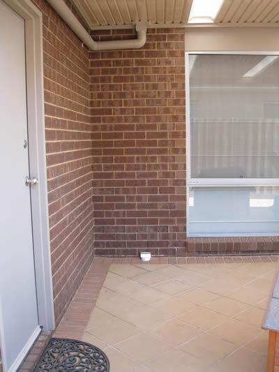 Corner space for Ukko Sauna