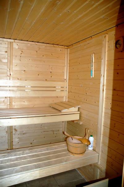 Salla Sauna Inside