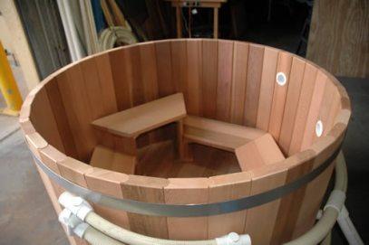 Ukko 900mm High Cedar Hot Tub