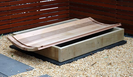 Ukko Sauna installation - step 1