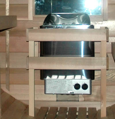 6.0kW stainless steel sauna electric heater