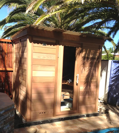 Ukko Log Sauna in Coffs Harbour