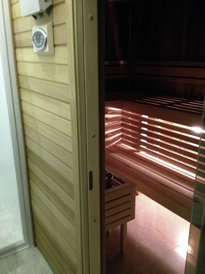 Ukko custom made sauna