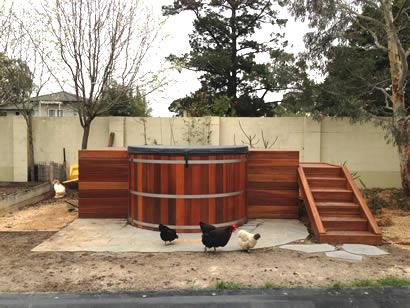 Ukko 2.1m diameter tub