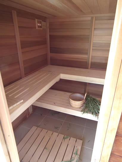 Sauna benching