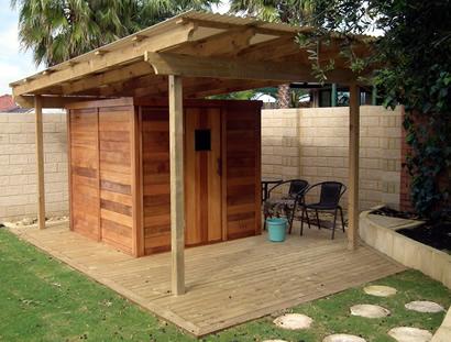 Ukko Log Sauna 2x2m