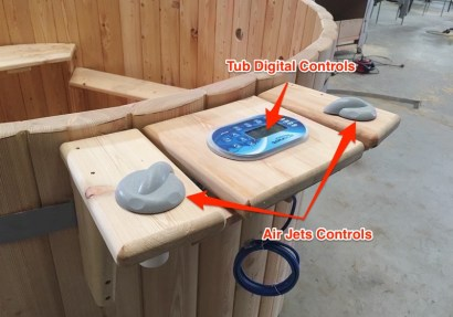 Hot Tub controls