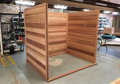 Making sauna