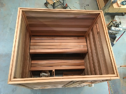 Sauna top view
