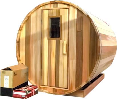 Ukko Cedar Barrel Sauna