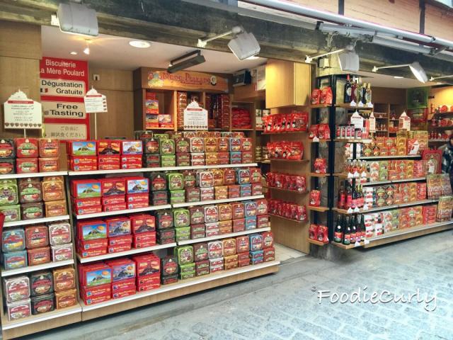 La Mere Poulard有很多包裝和味道,是米歇爾山的最佳手信!