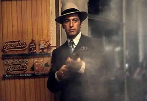 Michael Corleone's fedoras hats