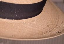 water repellent hats