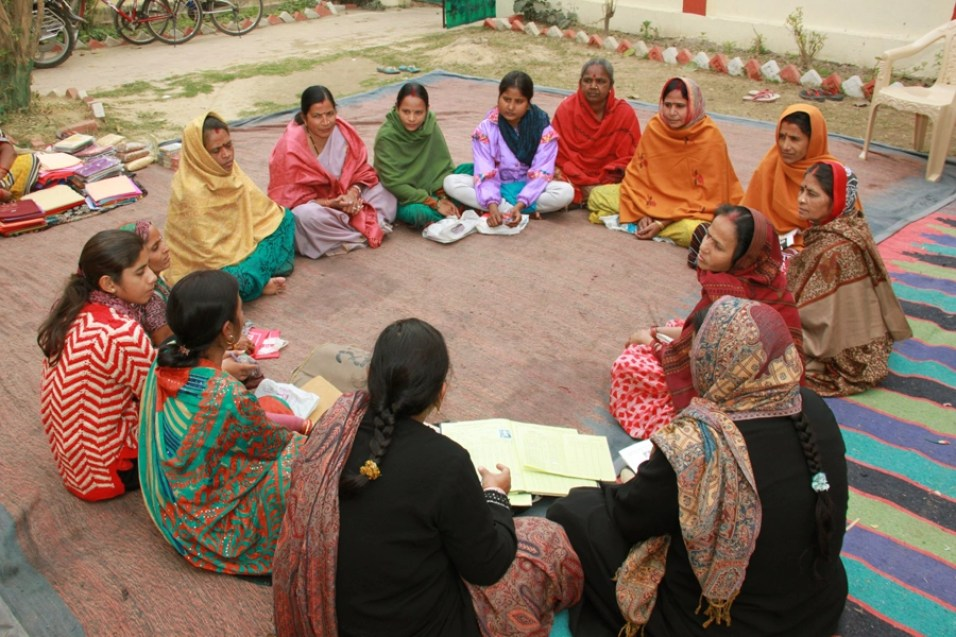 mothers group meeting in India