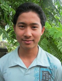 Richard, a former sponsored youth in the Philippines.