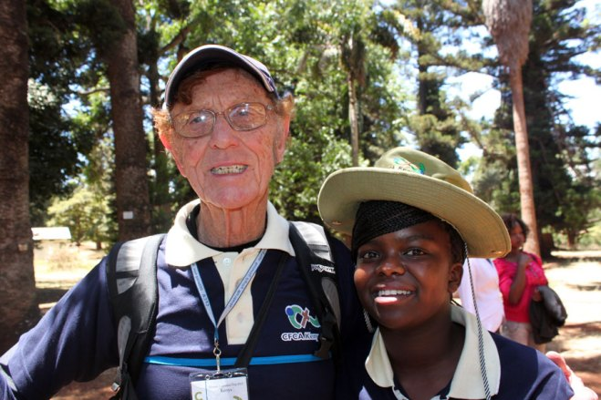 Late co-founder Bob Hentzen and Stephanie became friends on a 2012 Kenya Awareness Trip.