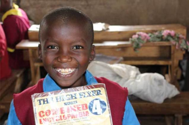 Sponsored child Collins from Nairobi, Kenya.