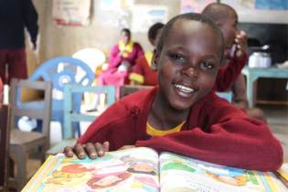 Sponsored child Martin from Nairobi, Kenya.