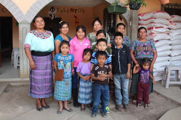 A friend and supporter for hundreds of families in her area, Carmen loves working alongside sponsored friends and their families.