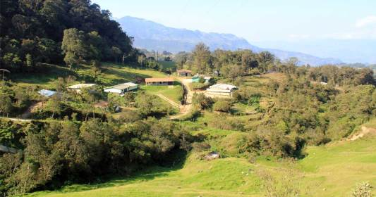 Image = Rural community in Honduras.