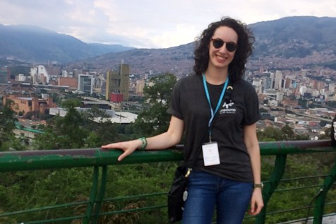 Image = An Unbound staff member from Kansas City visiting Colombia.