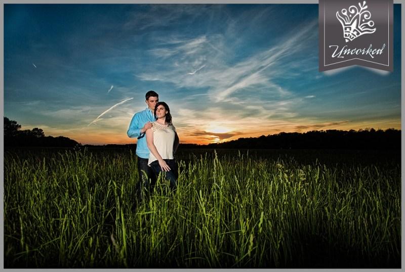 Sunset Engagement Session - © 2013 Uncorked Studios, LLC - Destination & Philadelphia Pennsylvania Wedding Photographer