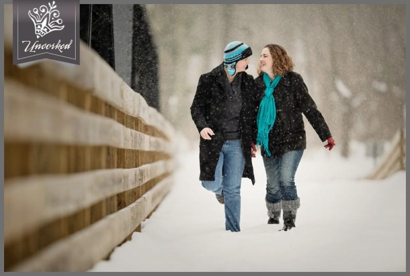 Winter Wonderland Engagement Session © 2014 Uncorked Studios, LLC - Philadelphia Pennsylvania Wedding Photographer