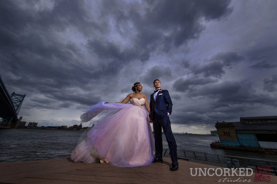 Race Street Pier Wedding