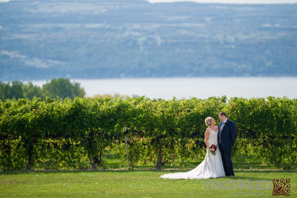 Seneca Lake Wine Country Wedding at Wagner Winery