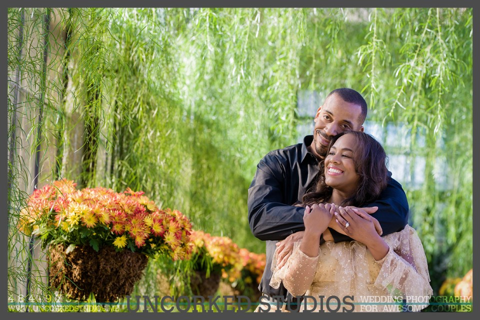 Longwood Gardens Engagement Session in the Grand Conservatory © 2017 Uncorked Studios, LLC - Destination & Philadelphia Pennsylvania Wedding Photographer - Photography for Awesome Couples - www.uncorkedstudios.me
