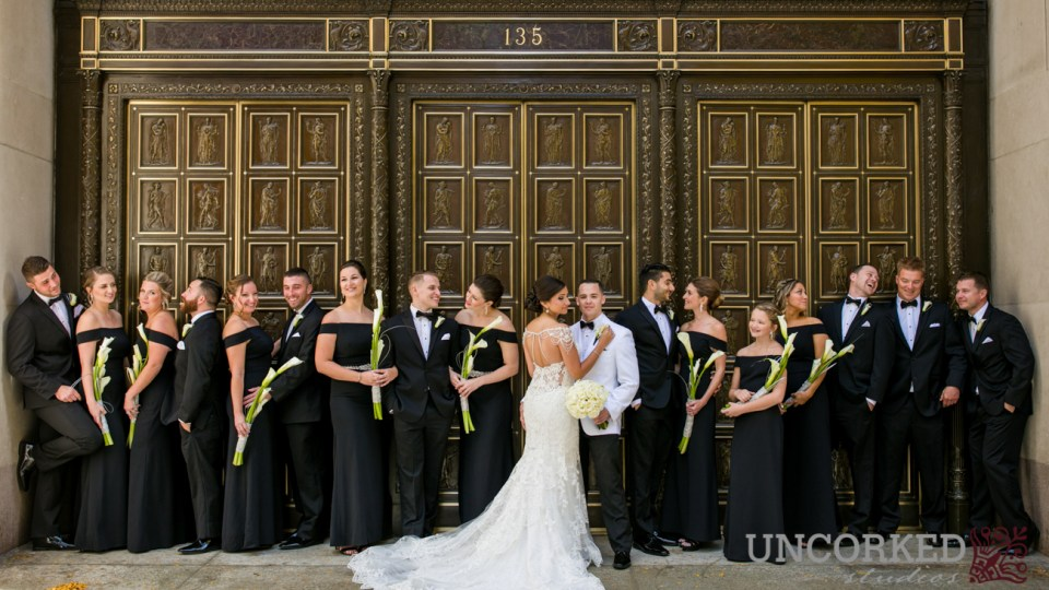 Broad Street Philadelphia Bridal Party