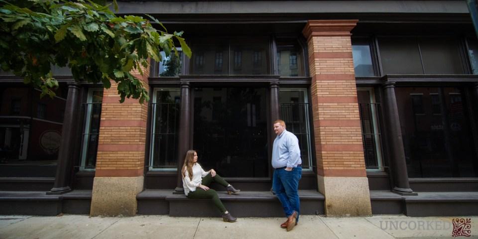 Old City Philadelphia Engagement