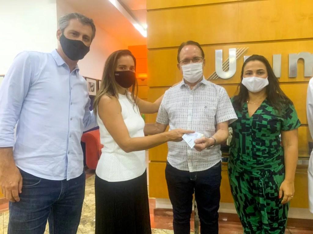 Amor de Criança recebe doação da empresa Nutrissima