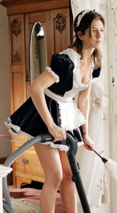 Maid sex blue thing