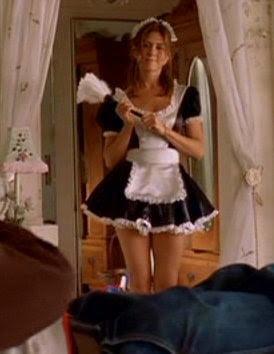 The maid bent erotic