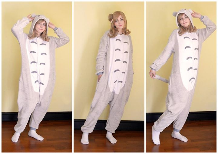 Wearing Kigurumi with confidence