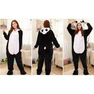 Panda Onesie from Front