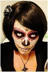 Sugar Skull Makeup using GEO CPF1-b