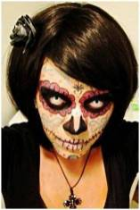 Sugar Skull Makeup using GEO CPF1-b