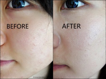 Korean skin care coverage by CC cream