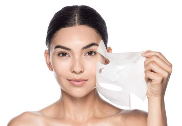 Korean skincare sheet mask