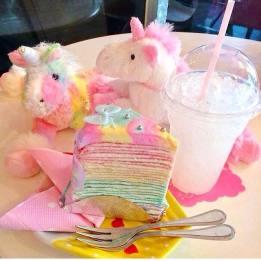 unicorn dessert