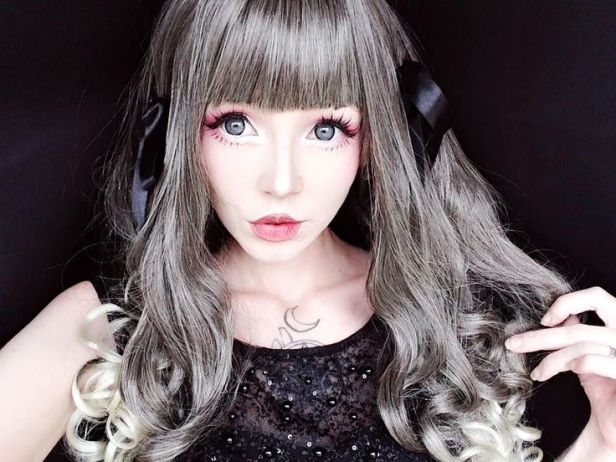 dressing lolita wig