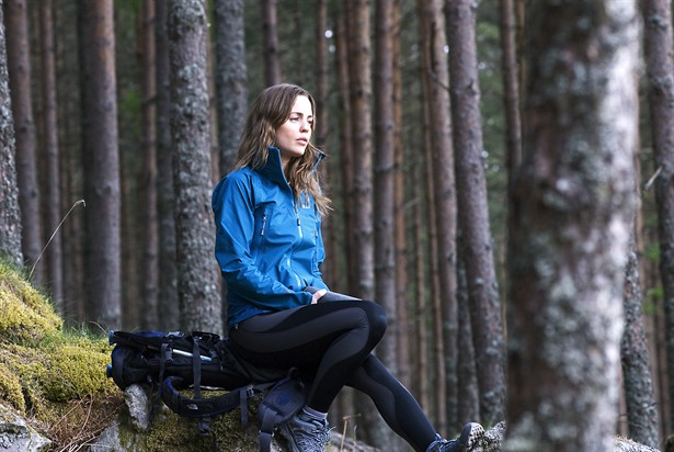 Melissa George in the Scottish Highlands