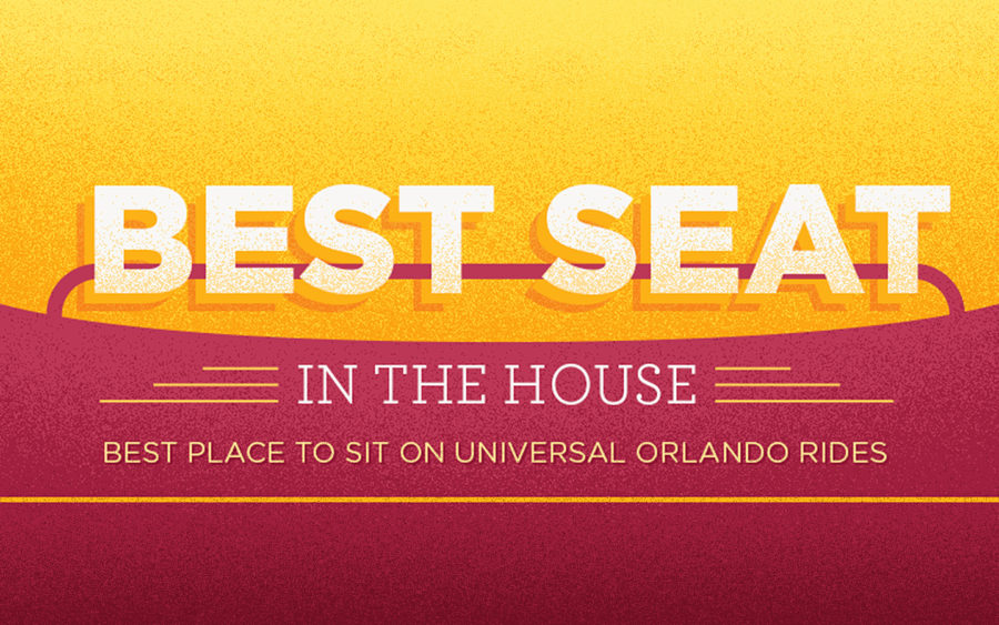Find out what the best seats are on the rides at Universal Orlando Resort.