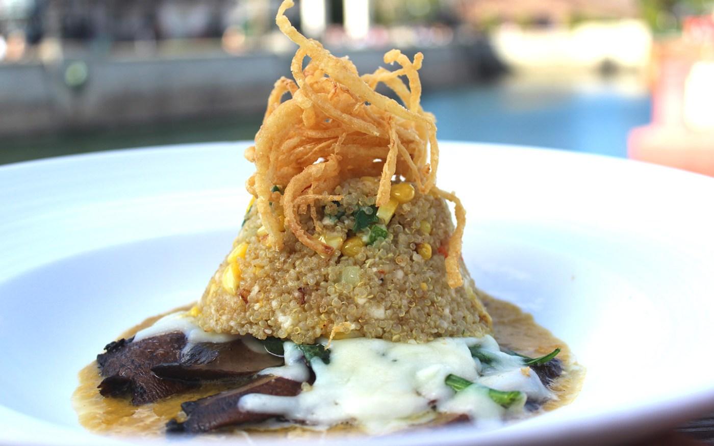 Portobello Quinoa from Lombard's Seafood Grille in Universal Studios Florida.