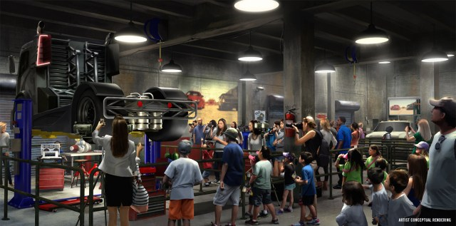 Fast & Furious - Supercharged Turbo Truck Queue Rendering