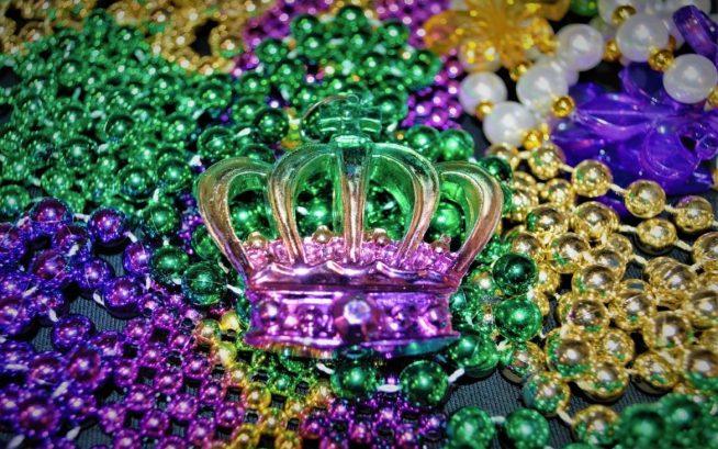 Mardi Gras Merchandise - Crown Bead